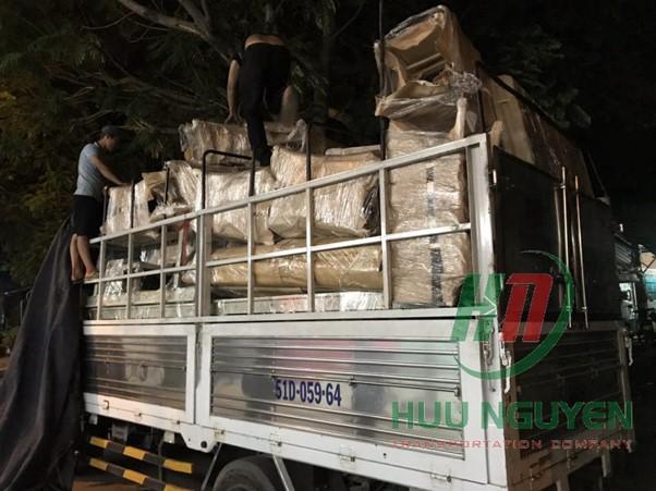 Dịch vụ xe tải vận chuyển hàng hóa Hữu Nguyên