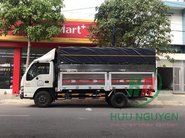Dịch vụ vận tải giá rẻ Hữu Nguyên tại TPHCM